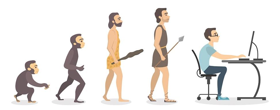 تاریخچه برنامه نویسی : و اینگونه رشد کردیم