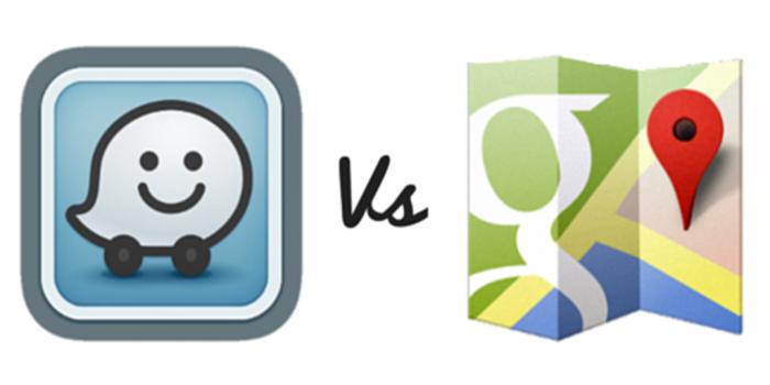 گوگل مپ در مقابل ویز : بررسی امکانات و تفاوت ها