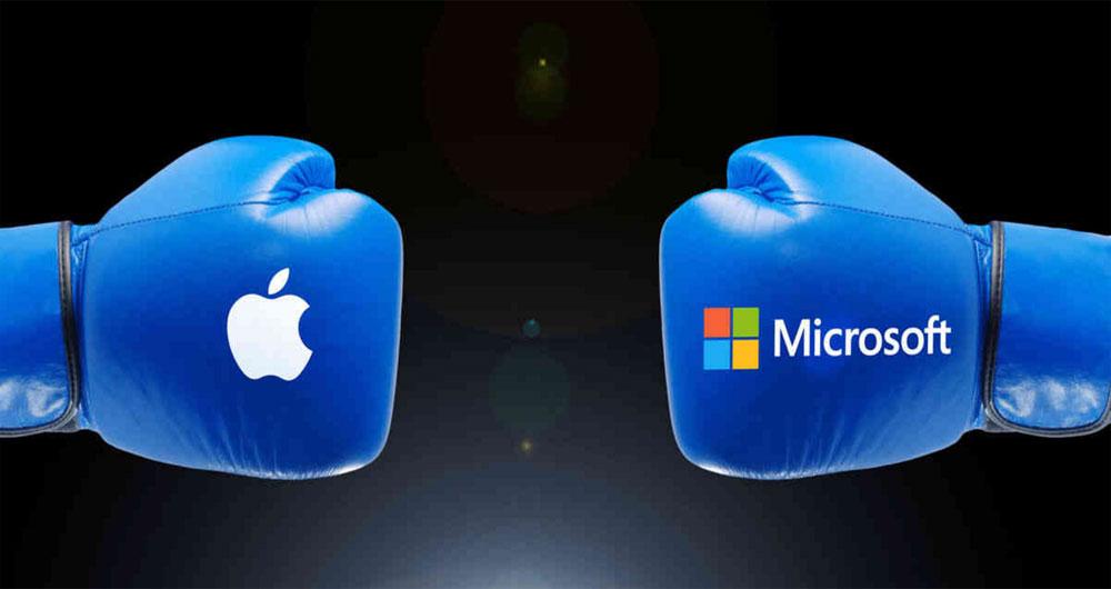 استراتژی های فناوری و رقابت استاندارد : مقایسه اپل و مایکروسافت