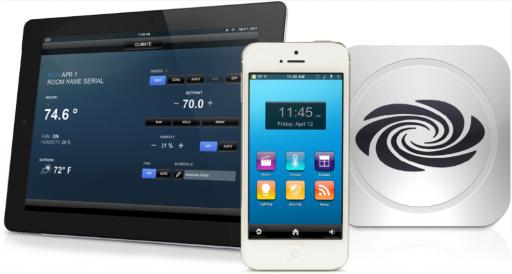 دستگاه های مدیریت خانه هایی هوشمند شرکت Crestron