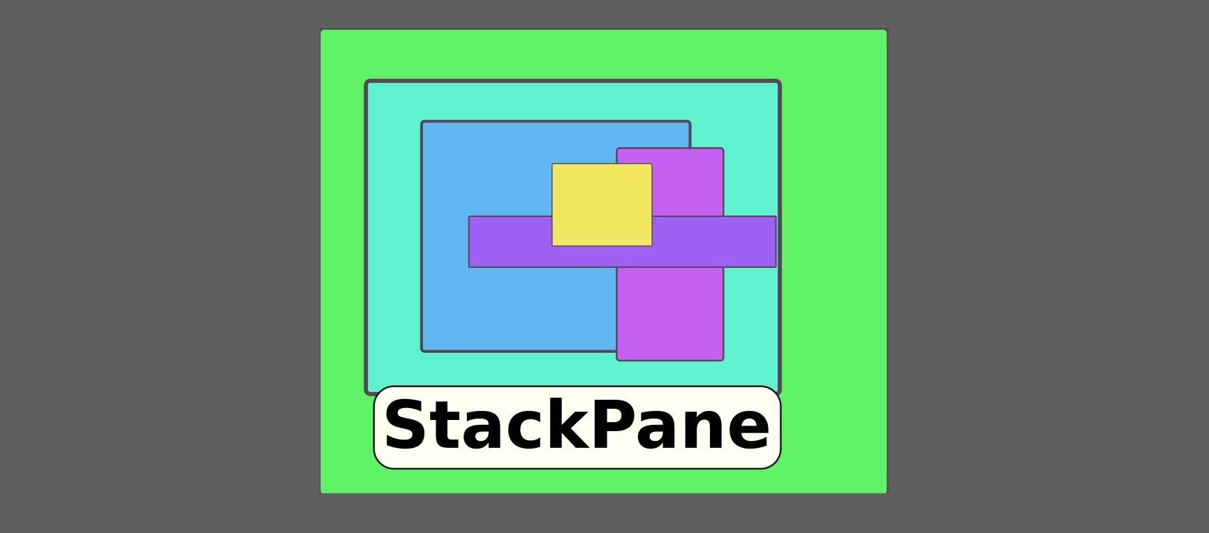 StackPane : بررسی Layout های جاوا FX
