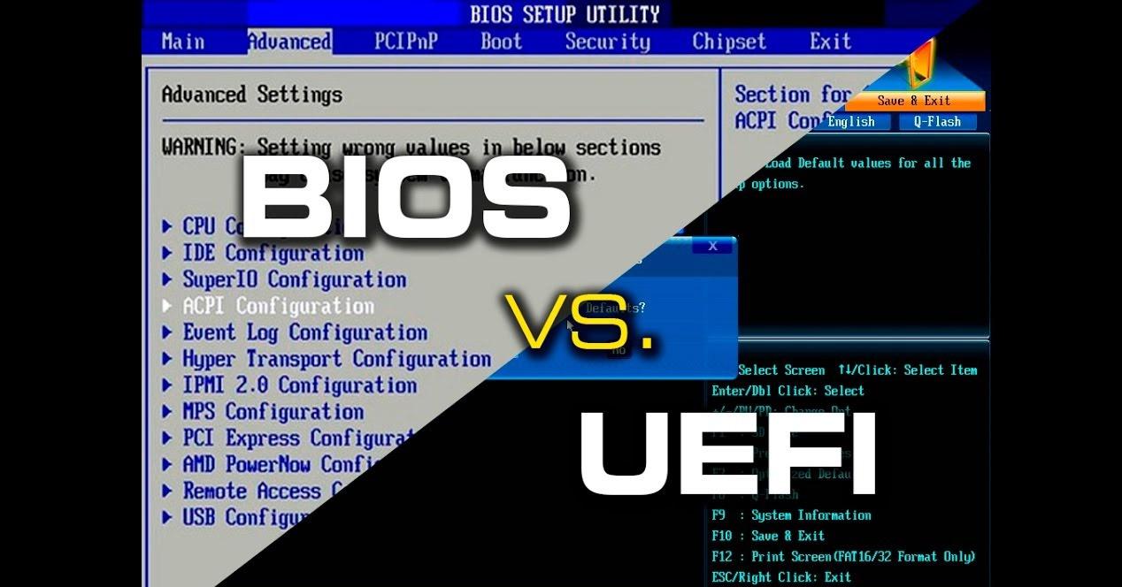 BIOS و UEFI : معرفی و بررسی تفاوت BIOS با UEFI