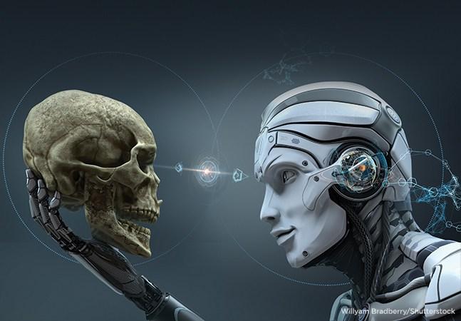هوش مصنوعی (AI) شبیه سازی فرآیندهای هوش انسانی توسط ماشین ها ، به خصوص سیستم های رایانه ای است. این فرایندها شامل یادگیری (کسب اطلاعات و قوانین استفاده از اطلاعات) ، استدلال (استفاده از قوانین برای رسیدن به نتیجه گیری تقریبی یا قطعی) و خود تصحیح است. کاربردهای خاص هوش مصنوعی شامل سیستم های خبرهexpert systems ، تشخیص گفتار speech recognitionو دید دستگاه machine visionاست. هوش مصنوعی را می توان به عنوان ضعیف یا قوی طبقه بندی کرد.