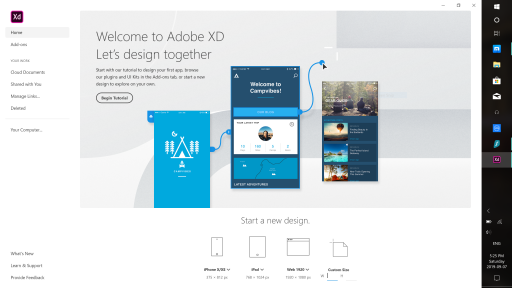 adobe xd step 2