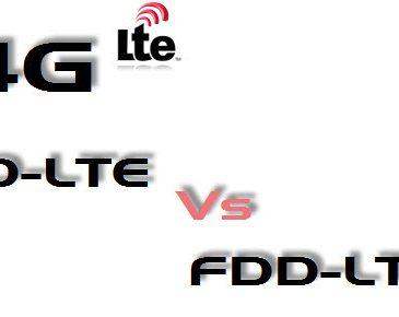 FDD VS TDD