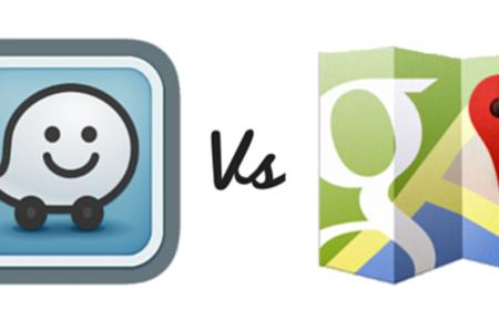 تفاوت میان گوگل مپ و ویز