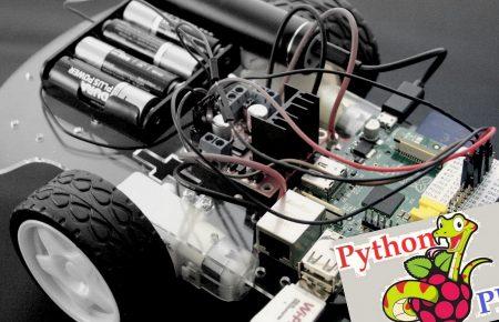 چطور با رزبری پای و پایتون ربات بسازیم