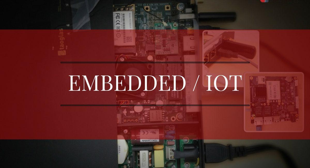 برنامه های تعبیه شده یا Embedded programming در اینترنت اشیا